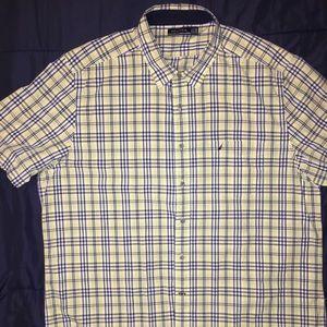 Men's Nautica short sleeve button down shirt
